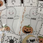 odd and even halloween numbers