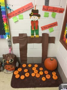pumpkin patch in the classroom
