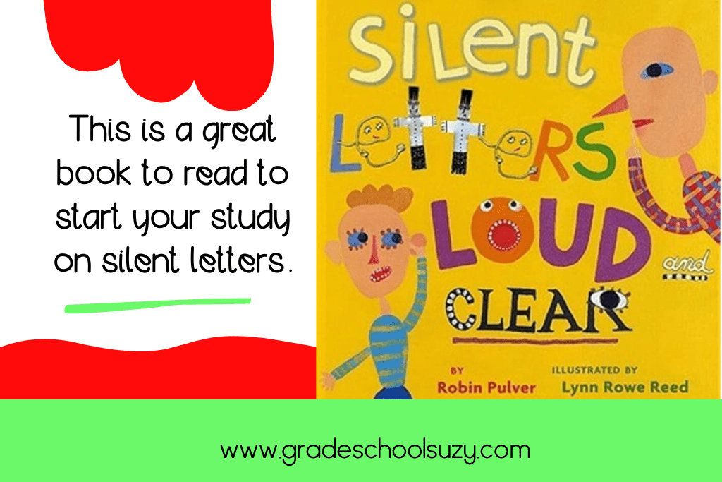 A book about silent letters.